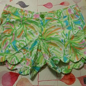 Lilly Pulitzer Buttercup Shorts Size 8